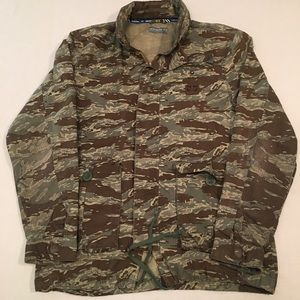 Rare adidas skateboarding camo military jacket